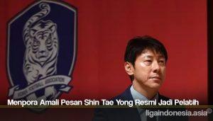 Menpora Amali Pesan Shin Tae Yong Resmi Jadi Pelatih Timnas