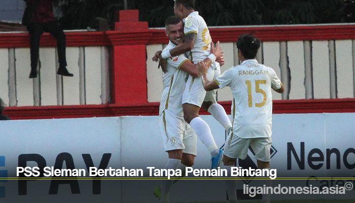 PSS Sleman Bertahan Tanpa Pemain Bintang