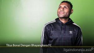 Titus Bonai Dengan Bhayangkara FC