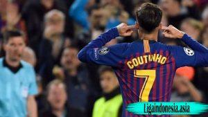 Agen Akan Pindahkan Philippe Coutinho Dari Barcelona