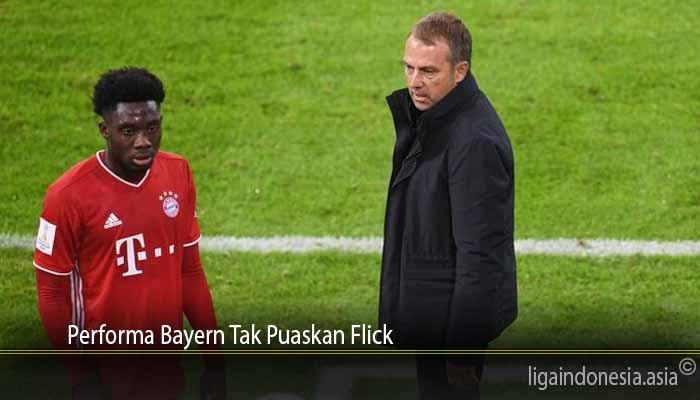 Performa Bayern Tak Puaskan Flick